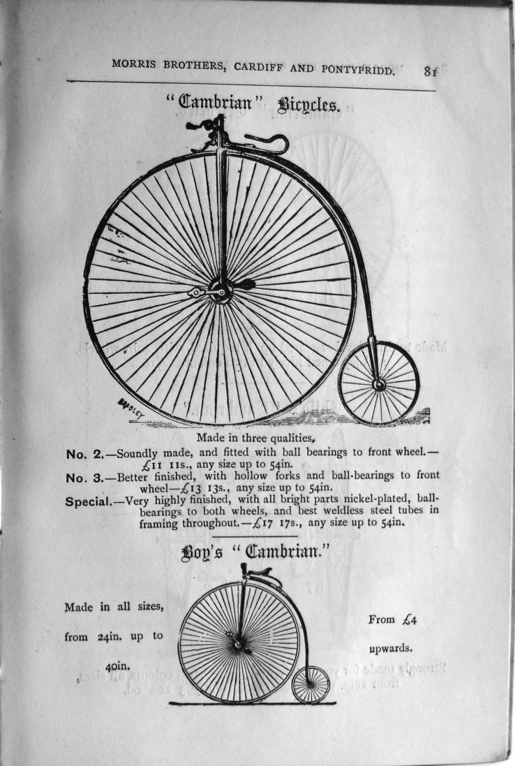 Morris Bros, Advert, 1884 (4)
