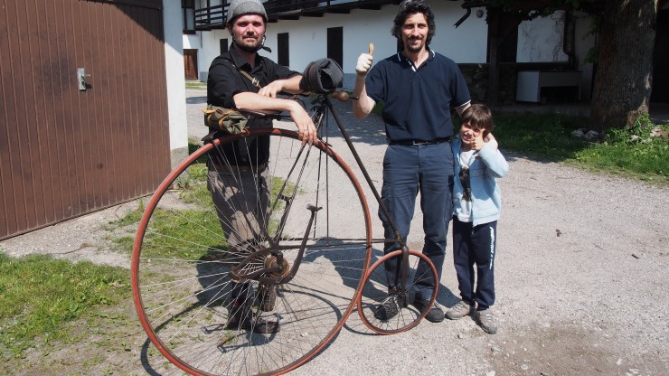 Signore Cerino und Sohn