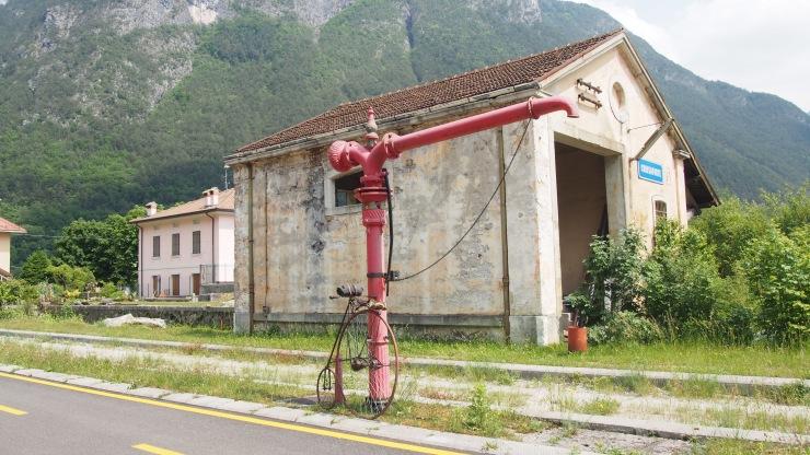 Wasserstation für Lokomotiven