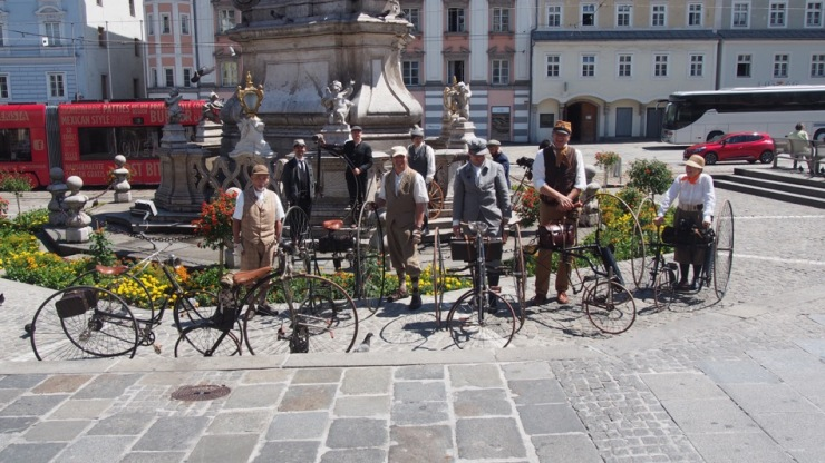 Am Linzer Hauptplatz